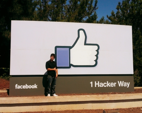 jeremy at facebook headquarters