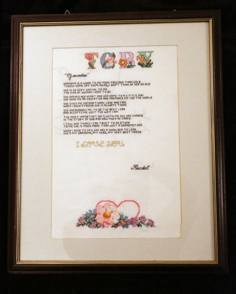Rachel's TOBY Poem