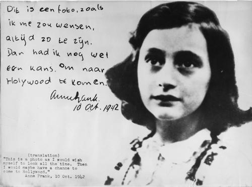 Happy Birthday Anne Frank Rachel Carrera Novelist