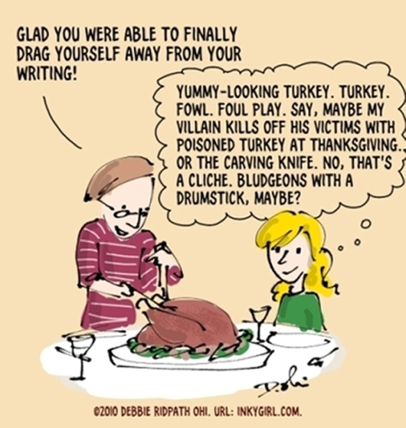 21 thanksgiving for writers