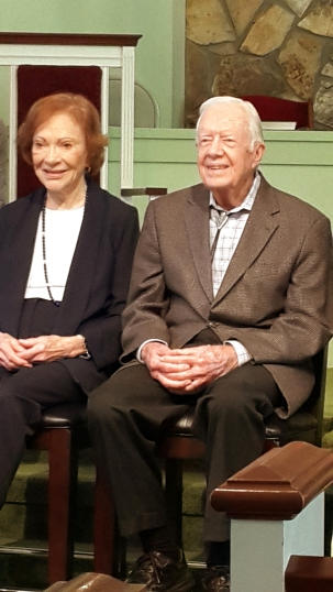 Rosalynn Carter & Jimmy Carter, 2016